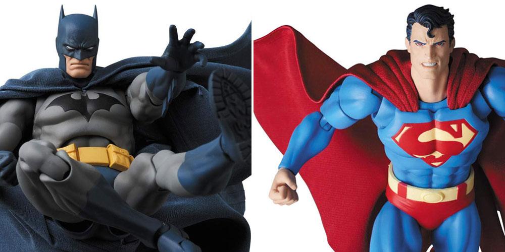 Mafex Hush Batman and Mafex Hust Superman. They will be mine!
