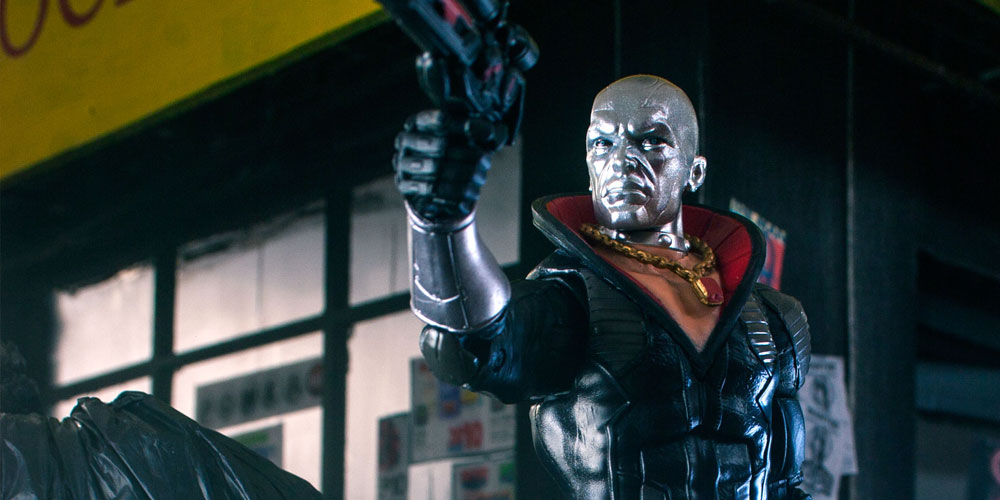 GI Joe: Classified Destro looks straight out of a movie ready to blast anyone who gets in his way.