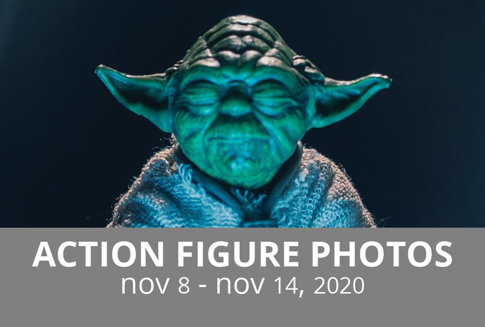 Action Figure Photography: Nov 8 – Nov 14, 2020