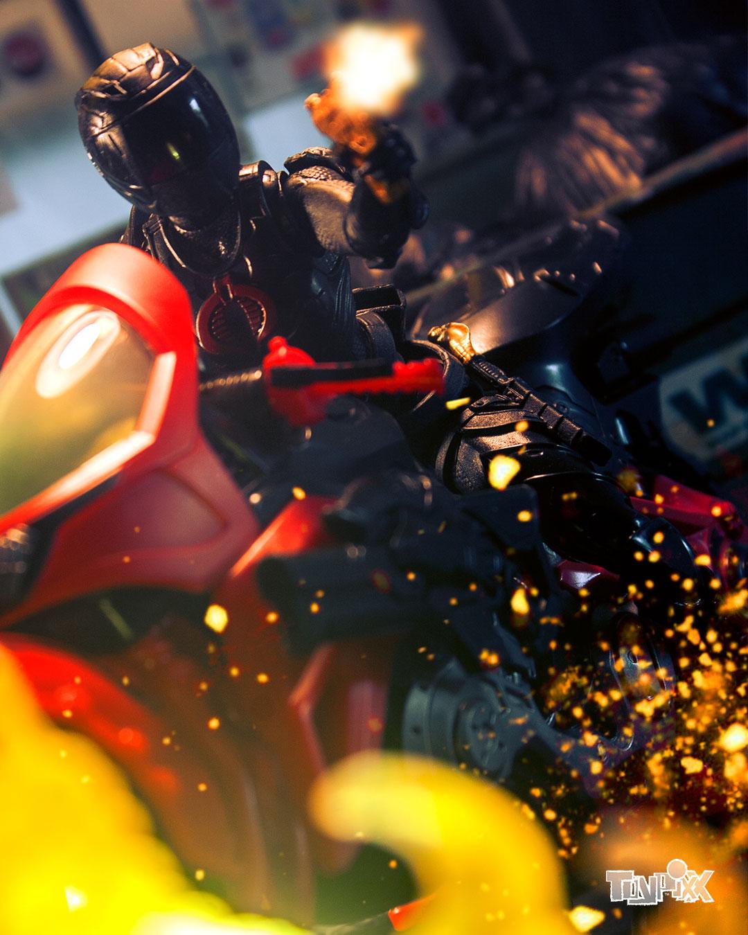 Toypixx GI Joe Classified Baroness Toy Photography
