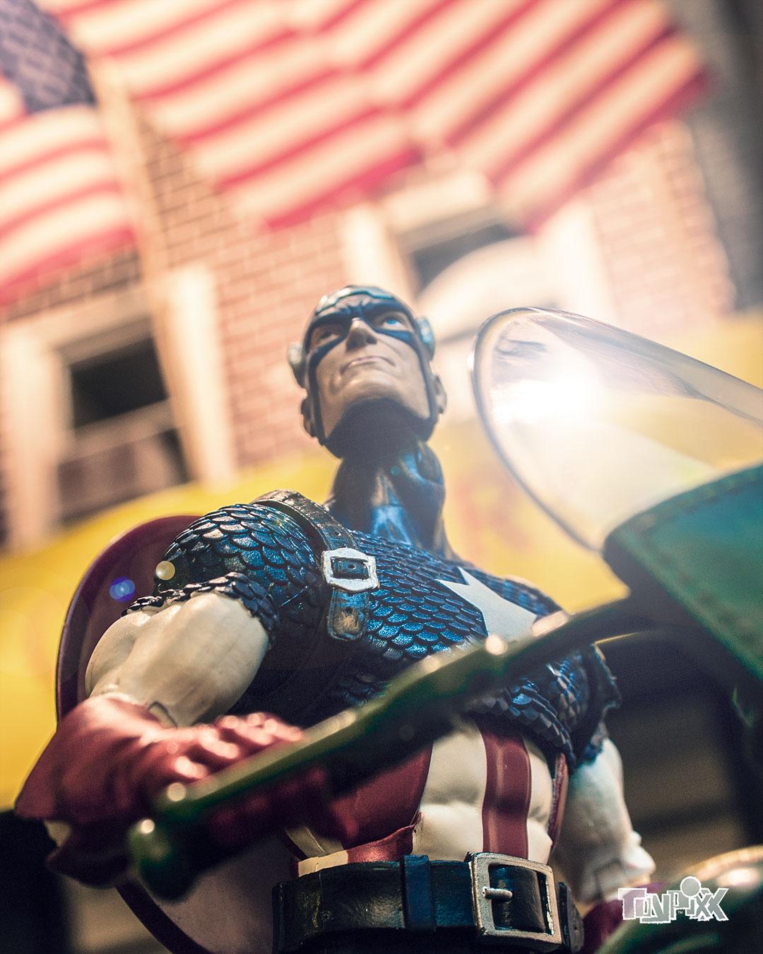 Toypixx Marvel Legends 80th Captain America