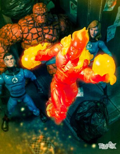Toypixx Marvel Legends Fantastic Four Toy Photography