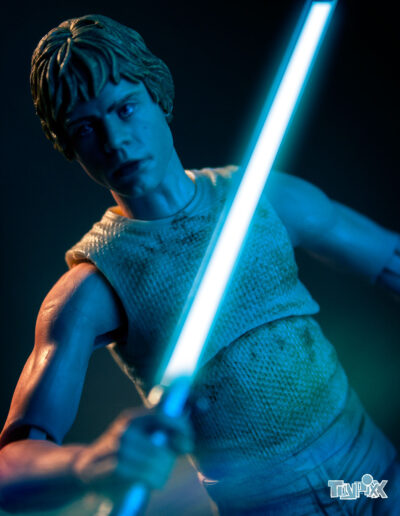 Toypixx Star Wars the Black Series Luke Skywalker Toy Photography